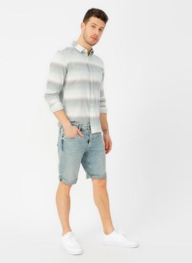 Twister Jean Şort Renksiz